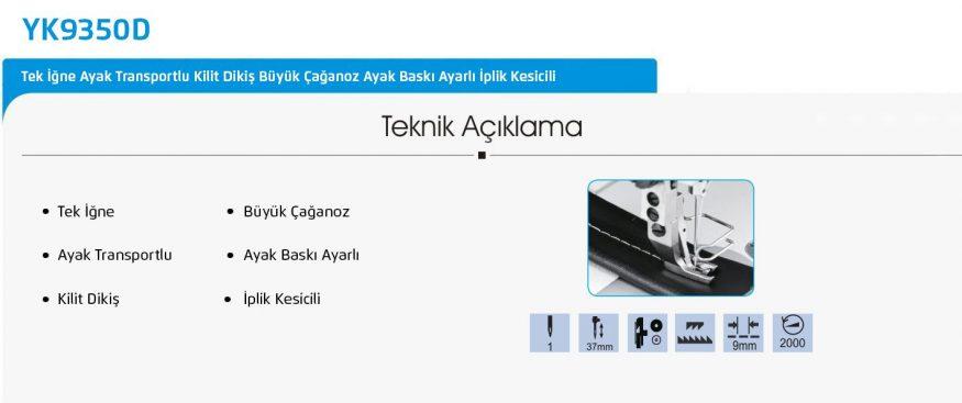YK9350D-detay